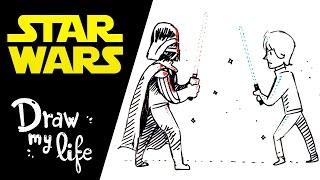 STAR WARS, LA HISTORIA EN DIBUJOS - Draw My Life