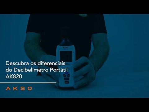Descubra os diferenciais do Decibelímetro Portátil AK820