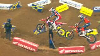 450SX Triple Crown highlights - Houston