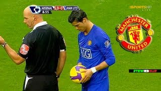 Cristiano Ronaldo Vs Arsenal (Away) ● Manchester United ● 2008-2009 ● 1080i HD #CristianoRonaldo