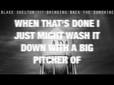 Neon Light- Blake Shelton (LYRIC VIDEO)