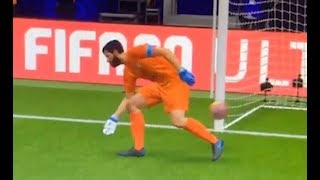 When Goalkeepers Go Wrong in FIFA...