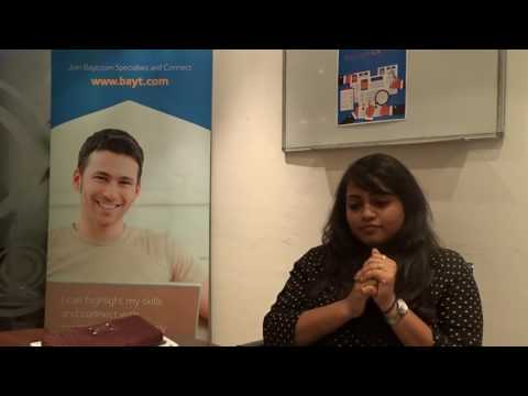 Vidyalakshmi P Talks About Her CV Clinic Session at Bayt.com