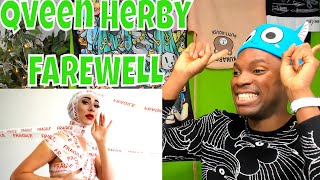 Qveen Herby - Farewell | REACTION