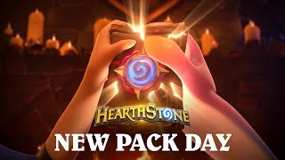 Today is Free Pack Day in Hearthstone