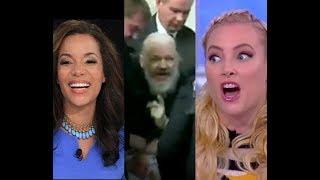 Meghan McCain fights Sunny Hostin over Julian Assange