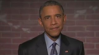 Obama reads 'mean tweets' about himself