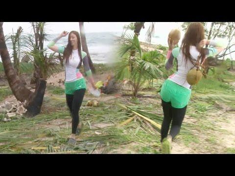 유승옥, '모델 워킹'으로 코코넛 운반 @정글의 법칙 20151030