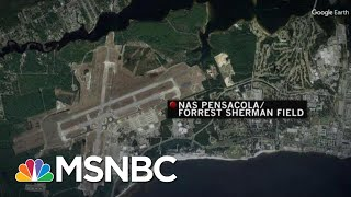 At Least 1 Killed, Suspect Dead In Shooting At Naval Base In Pensacola, FLA | Velshi & Ruhle | MSNBC