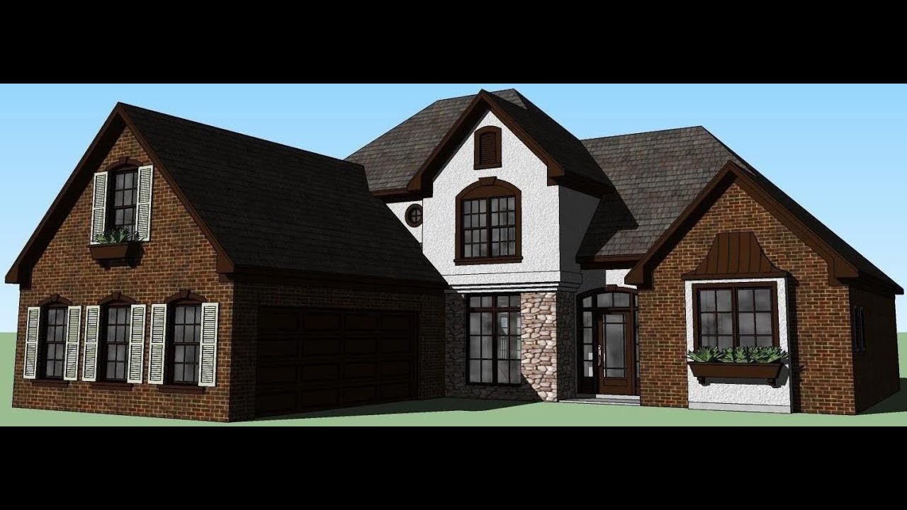 sketchup house 7 my dream home youtube. Black Bedroom Furniture Sets. Home Design Ideas