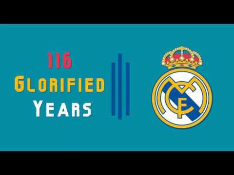 Happy Birthday Real Madrid   116 Glorified Years
