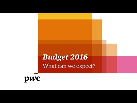 Budget 2016 - What can we expect?