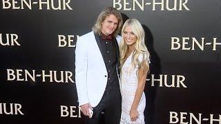 """Cole LaBrant & Savannah Soutas """"Ben-Hur"""" Los Angeles Premiere Red Carpet"""