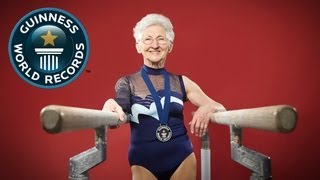 World's Oldest Gymnast - Meet The Record Breakers - Guinness World Records