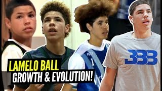 """LaMelo Ball's Incredible Evolution Through The Years! From 5'5"""" to 6'7"""" In 4 Years!"""