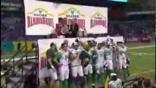 2013 Ducks versus Long Horns Valero Alamo Bowl Post Game