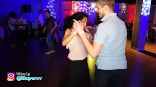 Social dancing at Salsa Night Awards 2017-2018 (SNA2017)