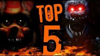 Top 5 Hardest FNAF Fan Games