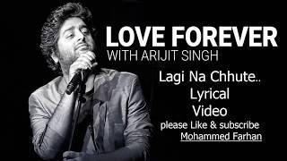 Laagi na choote (lyrical audio song) - Arijit singh & Shreya ghoshal | A Gentleman-SSR