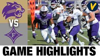 Western Carolina vs Furman Highlights   2021 Spring FCS College Football Highlights