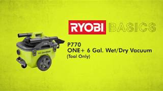 Video: 18V ONE+™ 6 Gal. Cordless Wet/Dry Vacuum