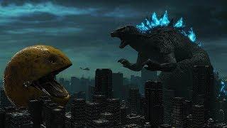 Godzilla Vs Pac-Man