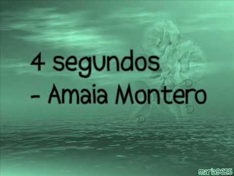 4 segundos - Amaia Montero (letra)