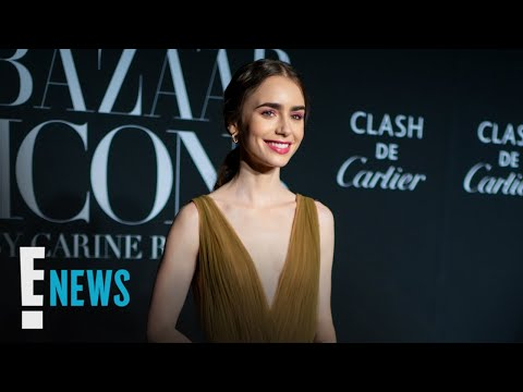 Lily Collins Is Engaged! See Her Unique Diamond Ring | E! News