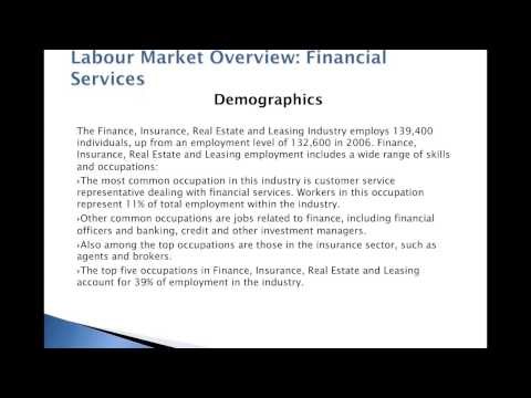 GT Hiring Solutions - Labour Market Overview of BC's Financial Services Sector