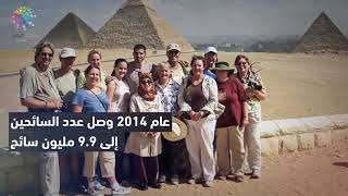 دوت مصر| بعد عودة الروس.. احصاءات السياحة منذ 2011 إلى 2016 ...