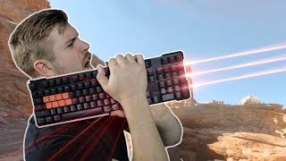 Laser Keyboards – Do they REALLY shoot first?