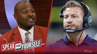 Whitlock and Wiley disagree on Ram's coach Sean McVay being overhyped | NFL | SPEAK FOR YOURSELF
