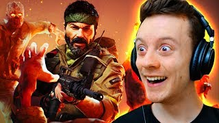 BLACK OPS: COLD WAR ZOMBIES REVEAL EASTER EGG HUNT! (Call of Duty)