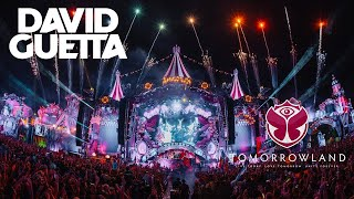 David Guetta live Tomorrowland 2017