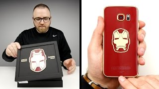Galaxy S6 edge Iron Man Limited Edition – Official Unboxing
