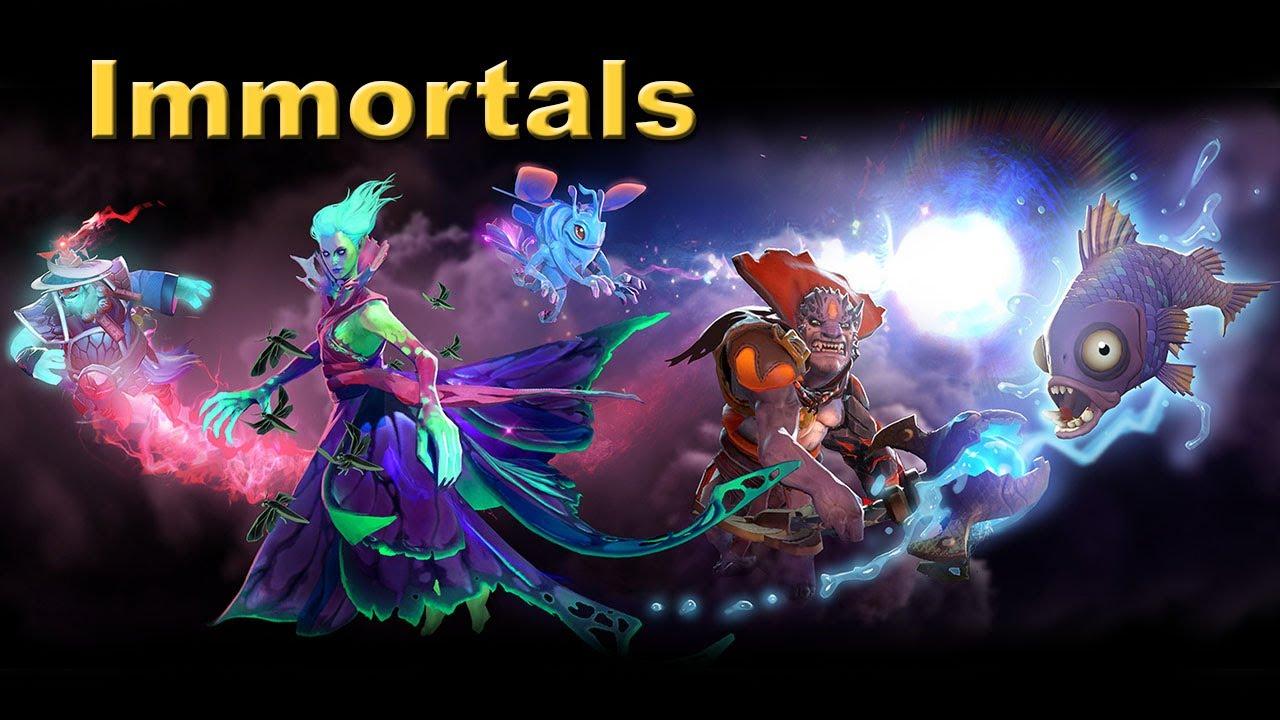 Dota 2 Immortals Meme: The Immortals Rares TI4 Dota 2.
