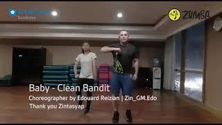 Baby - Clean Bandit /ZUMBAFIT / Choreography by @zin_gm.edo