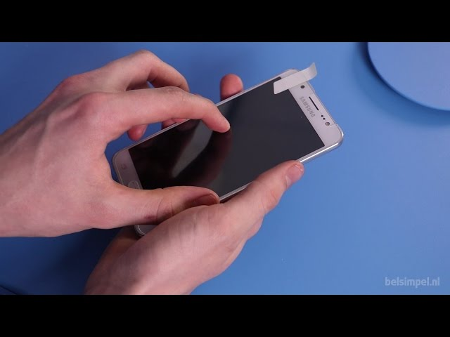 Belsimpel-productvideo voor de Mobilize Edge-To-Edge Glass Screenprotector Samsung Galaxy S8+ Black