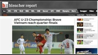 Tờ báo thể thao nổi tiếng nhất tại Mỹ phấn khích trước chiến công lịch sử của U23 Việt Nam