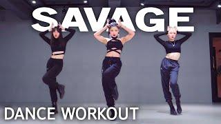 [Dance Workout] Megan Thee Stallion - Savage tt. Beyoncé   MYLEE Cardio Dance Workout, Dance Fitness