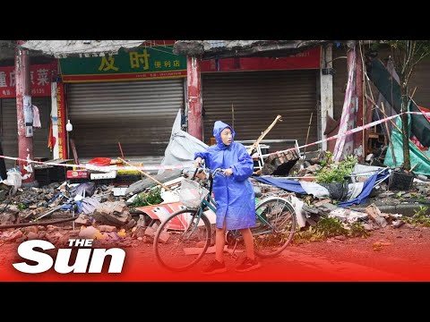 6.0-magnitude earthquake hits China as rescue workers race to save survivors