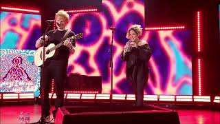 Ed Sheeran and Amy Wadge - Songs I Wrote with Amy @ The Shepherd's Bush Empire, London 02/09/21