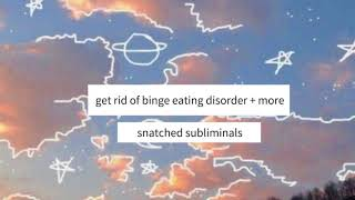 Get Rid of Binge Eating Disorder + More [REQUEST] | Subliminal |
