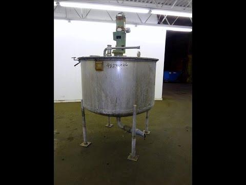 Used- Tri-Canada Mix Tank, 300 Gallon, Model Paint Tank - stock # 48243036