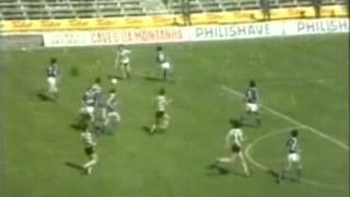 23J :: Belenenses - 0 x Sporting - 3 de 1984/1985, Golo de M. Fernandes