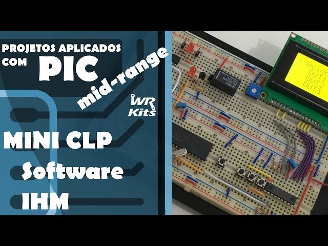 MINI CLP (Software IHM) | Projetos com PIC Mid-Range #16