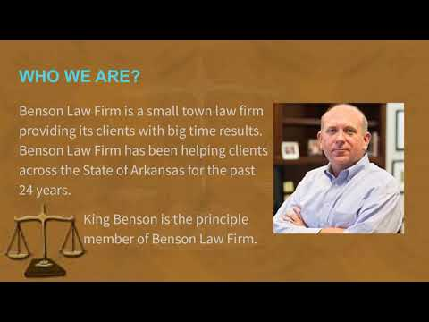 Lawyer Jonesboro AR - Benson Law Firm