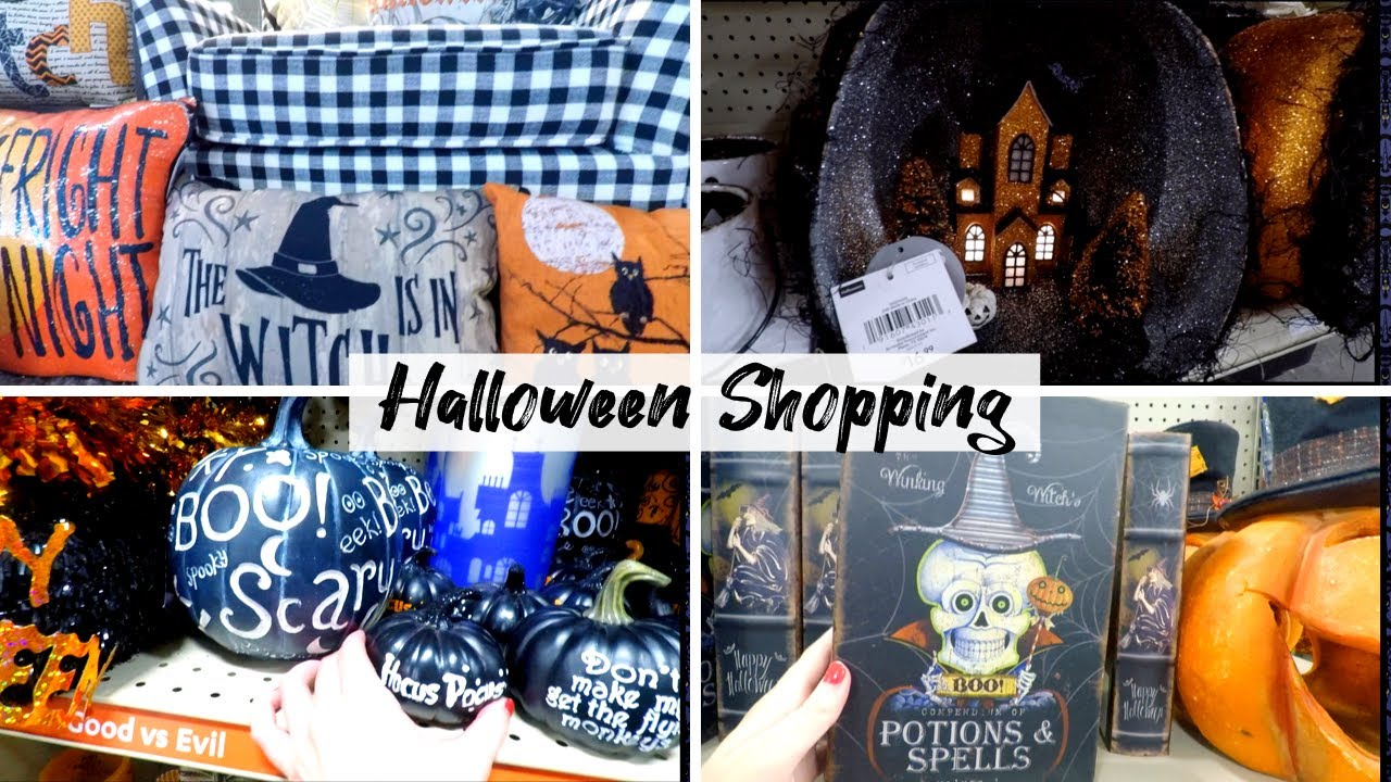 Hobby Lobby Halloween Decorations 2019.Halloween Shopping In August Hobby Lobby At Home 99 Cent Store 2019 Disney Halloween Decor
