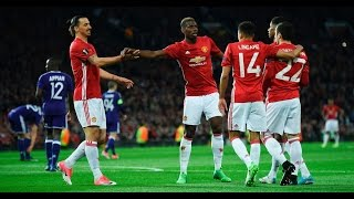 Manchester United vs Anderlecht 2-1(3-2) April 20th 2017 All Goals and Highlights!