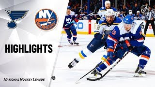 Blues @ Islanders 10/14/19 Highlights